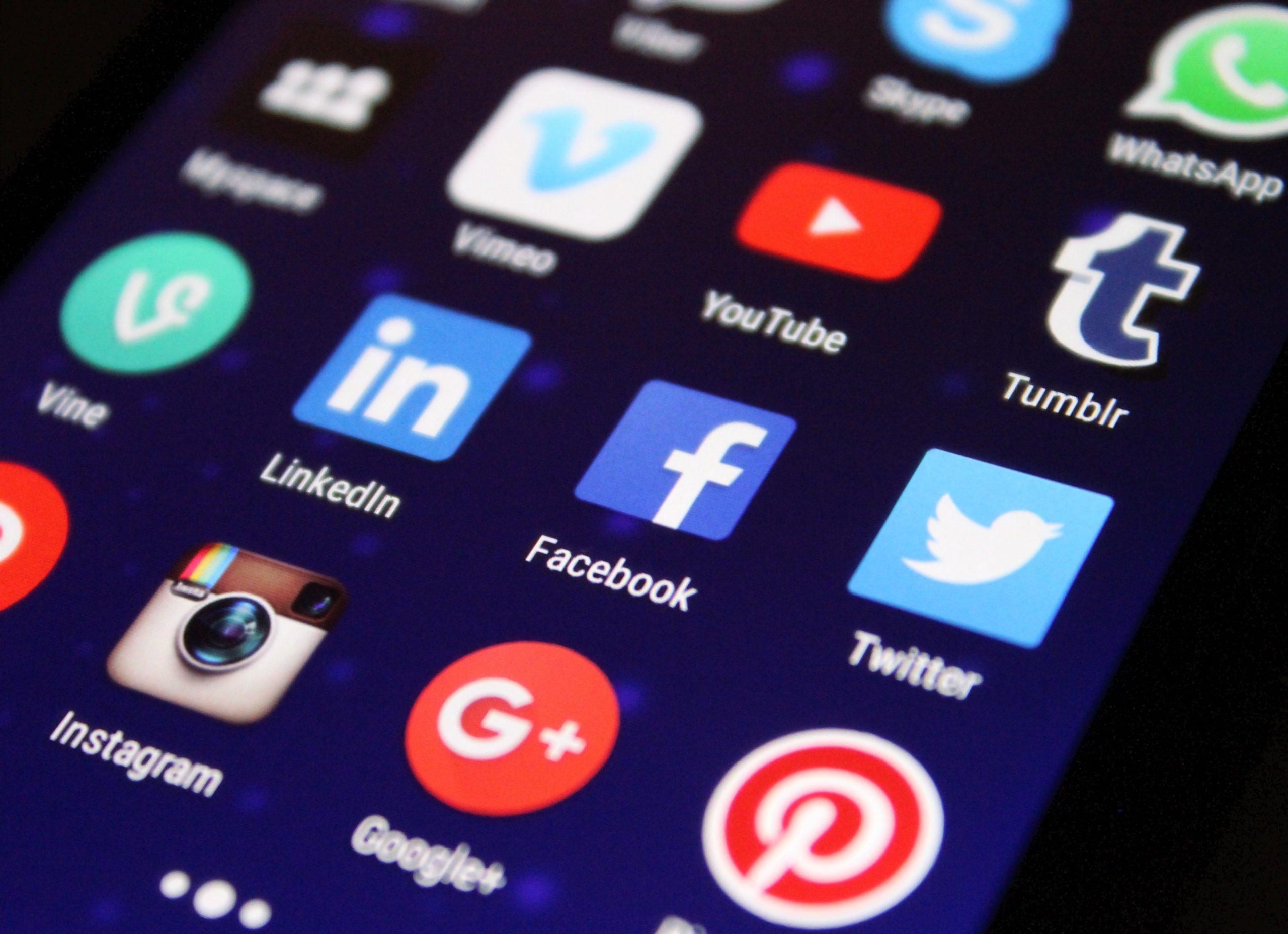Social media kanalen voor 2020
